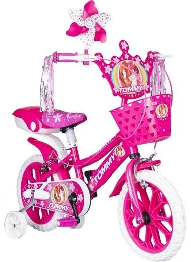 Tommy Baby 15 Jant Çocuk Bisiklet 4-5-6 Yaş Pembe